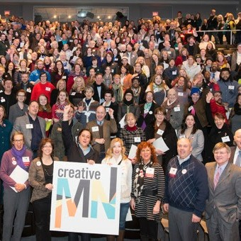 Gathering of Artists at Arts Advocacy Day