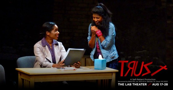 """Performance photo - """"Trust"""" at The Lab Theater Minneapolis"""
