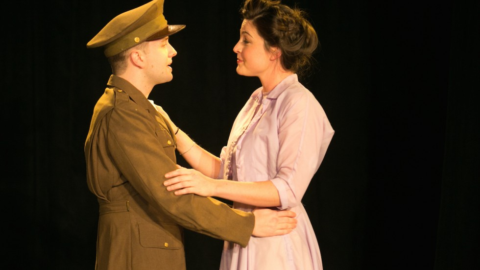 John Stark and Tiffany Cornwell in The Bernice Project. Photo by Lauren B.