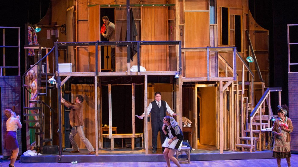"The Cast of Artistry's ""Noises Off"""