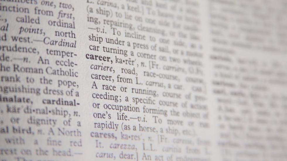 The definition of career
