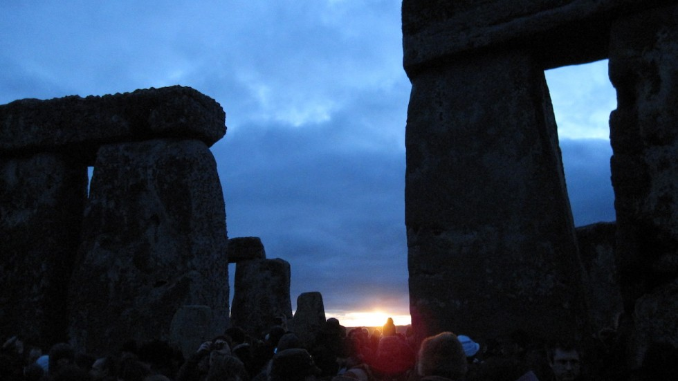 Stonehenge on solstice