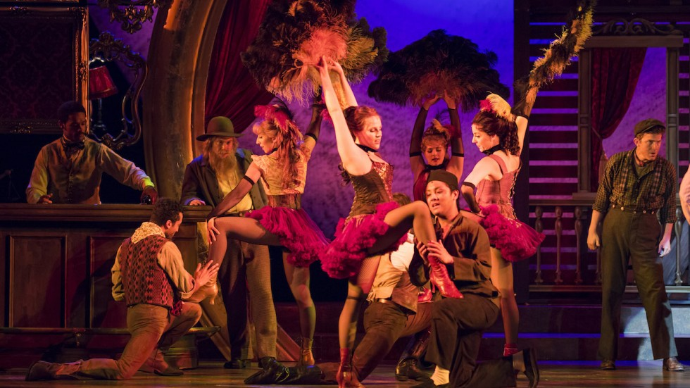 The company of Paint Your Wagon at yhe Ordway
