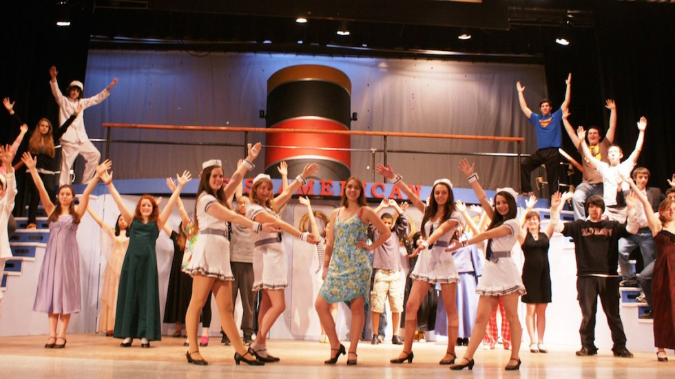 Lakeland HS, NY production of Anything Goes