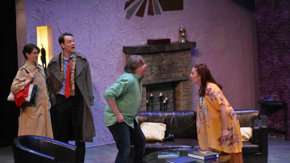 Jamie White Jachimiec, Bill Williamson, Don Maloney and Katie Wodele  in God of Carnage