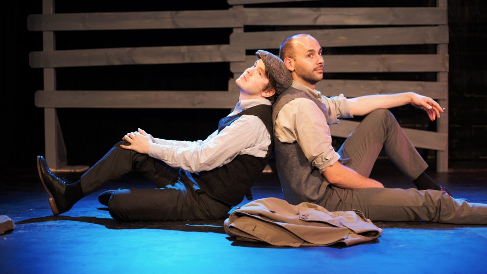 Pictured: Rudy (Andrew Newman) & Max (Adam Rouser)