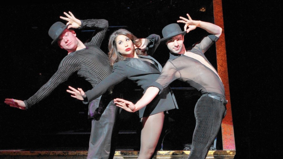 "A scene from ""Chicago"" on Broadway."