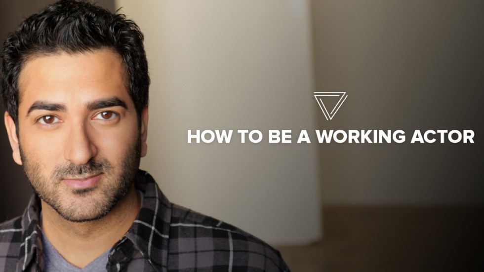 Shaan Sharma teachers How to be a Working Actor on March 25th at MIA