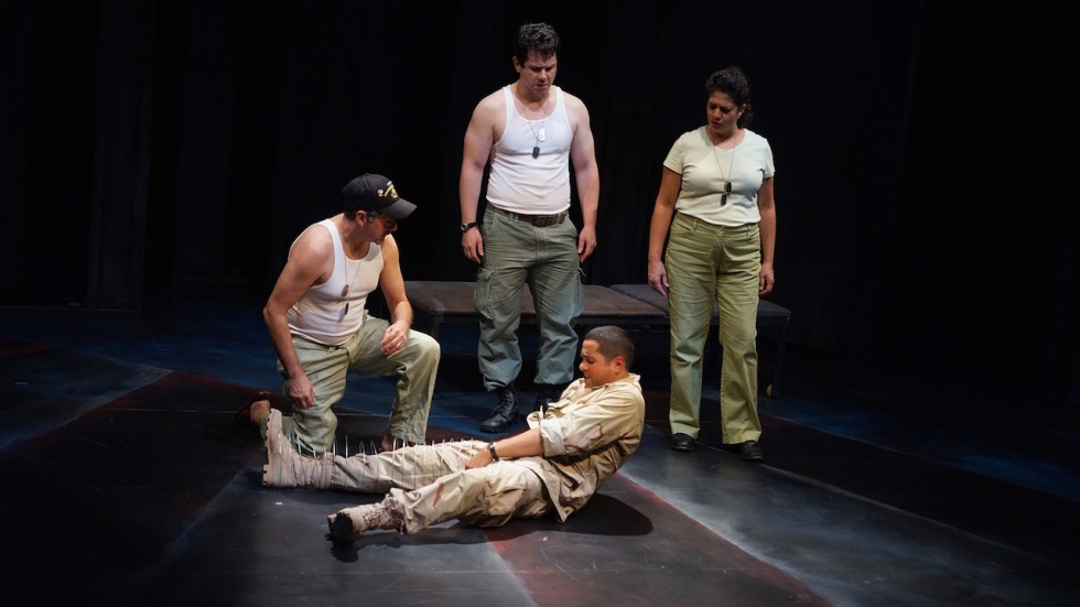Eliot: A soldier's fugue at Park Square Theater