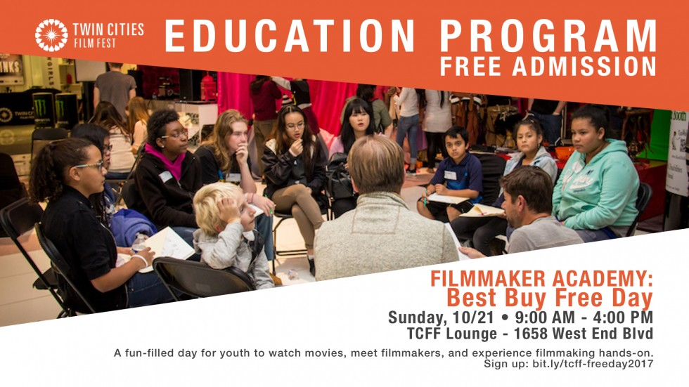 Best Buy Free Day - Filmmaker Workshop for Youth at Twin Cities Film Fest