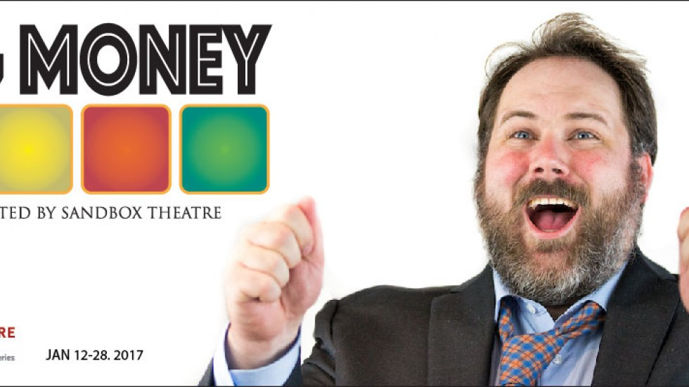 Peter Heeringa as Michael Larson in Big Money (Photo by Matthew Glover)