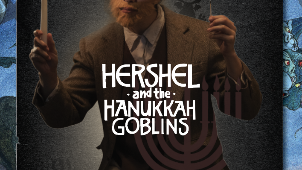 Hershel of Ostropol lights up Hanukkah