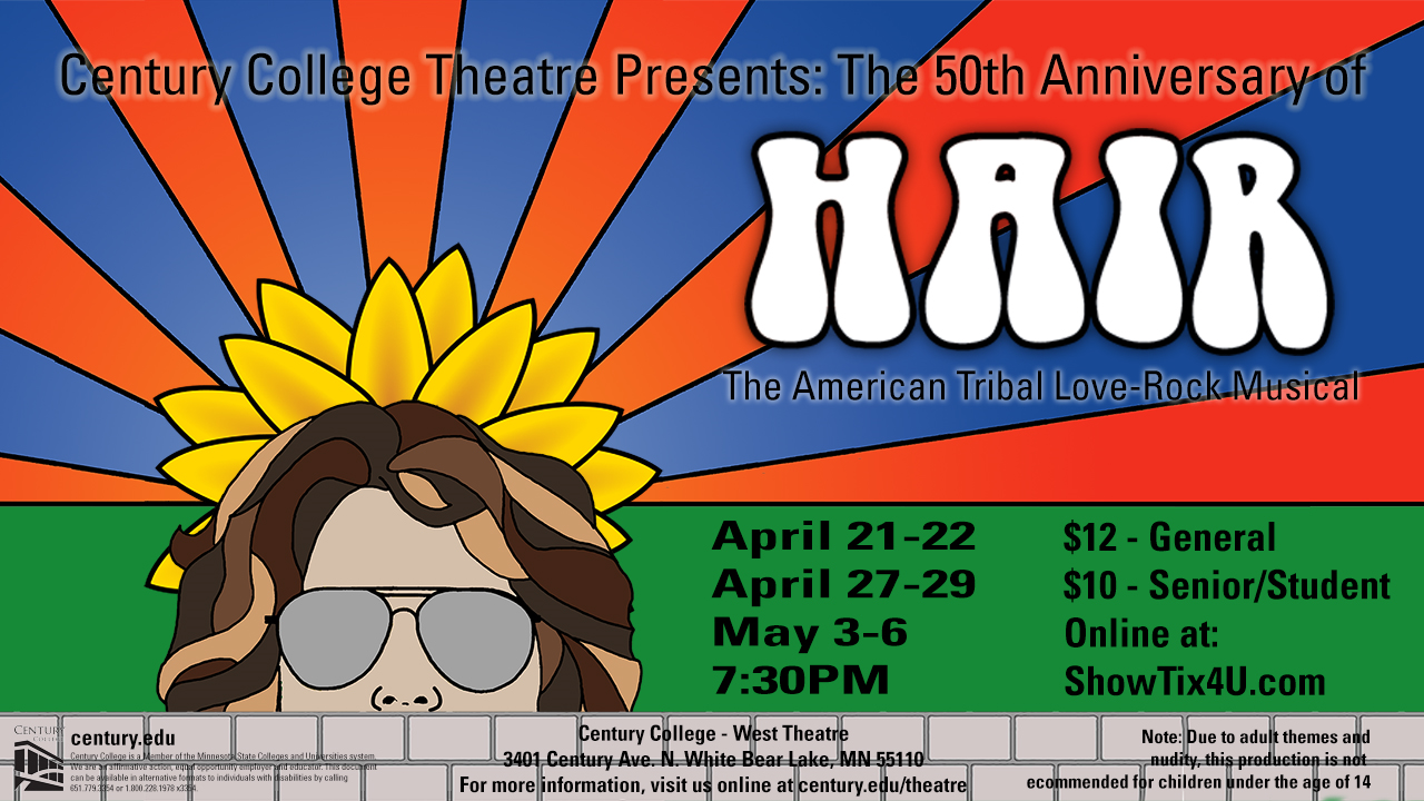 the american tribal love rock musical July 15 - 31 ethel m barber theater book and lyrics by gerome ragni and james rado music by galt macdermot directed by matt hawkins.