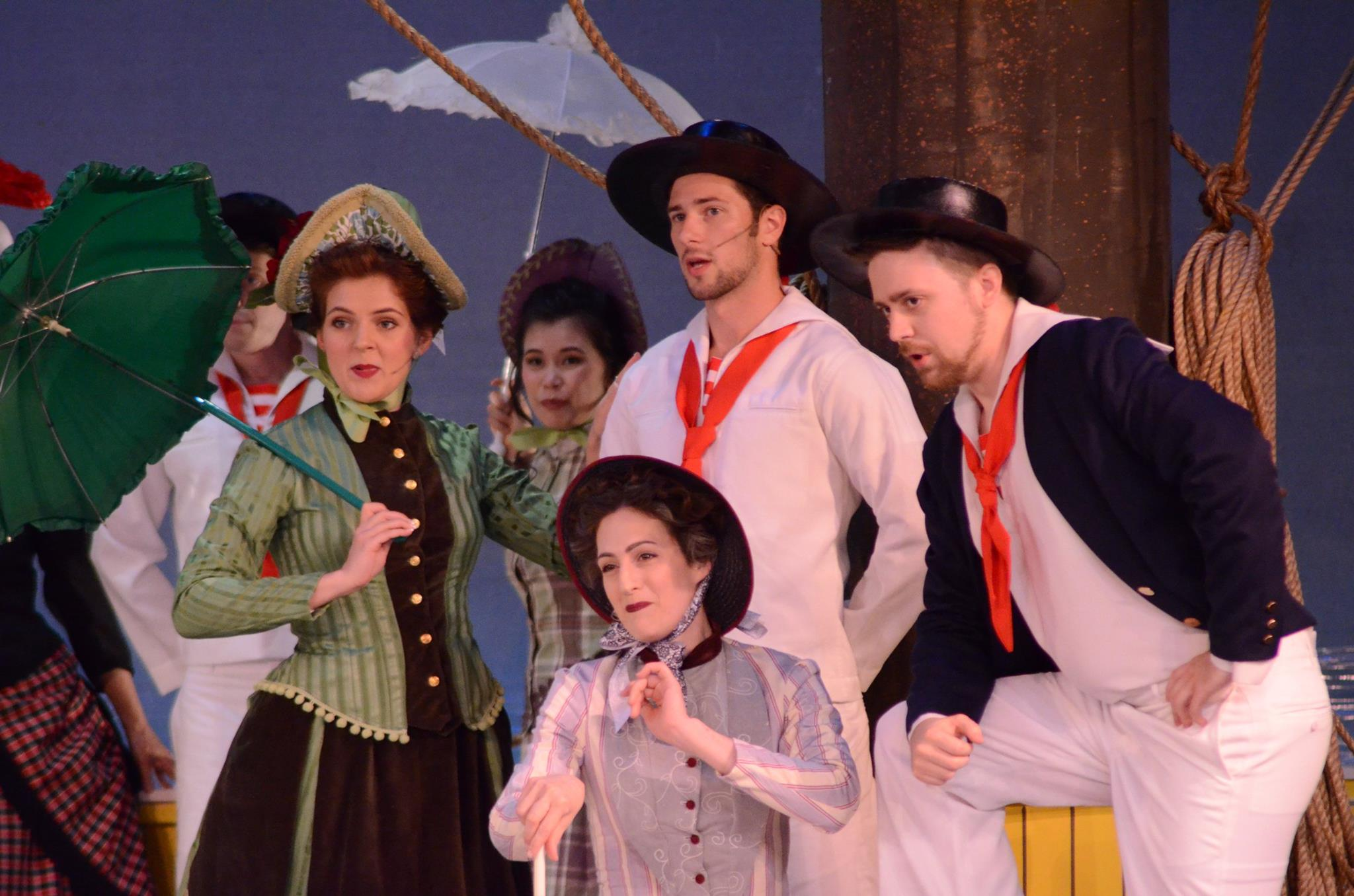 HMS Pinafore Boatswain Mounds View Community Theatre Joe Allen Brandyn Tapio Jaclyn Mack GSVLOC